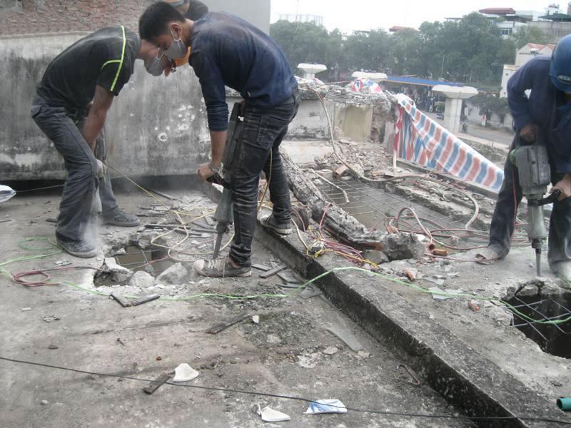 Khoan cắt bê tông tại TP Vinh Nghệ An